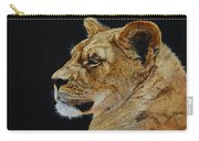Profile Of A Lioness Carry-all Pouch