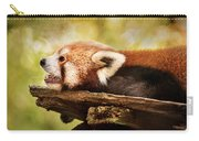 Profile Of A Red Panda Carry-all Pouch