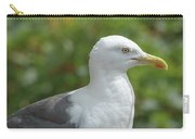 Profile Of Adult Seagull Carry-all Pouch