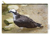 Profile Of An Osprey Bird In The Shallows Carry-all Pouch