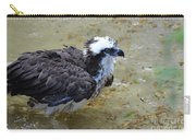 Profile Of An Osprey In Shallow Water Carry-all Pouch