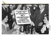 Prohibition Ends Let's Party Carry-all Pouch