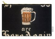 Prohibition: Repeal, C1933 Carry-all Pouch