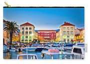 Prokurative Square In Split Evening Colorful View Carry-all Pouch