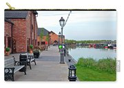 Promenade And Boats At Barton Marina Carry-all Pouch