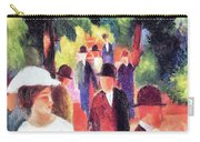 Promenade II By August Macke Carry-all Pouch