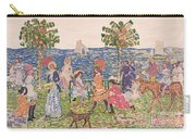Promenade Carry-all Pouch by Maurice Brazil Prendergast
