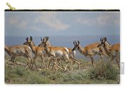 Pronghorn Antelope Running Carry-all Pouch
