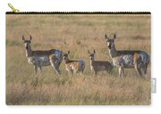 Pronghorn Fawns And Their Mothers Carry-all Pouch