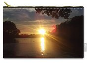 Prospect Park Sunset Carry-all Pouch