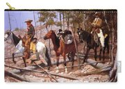 Prospecting For Cattle Range 1889 Carry-all Pouch
