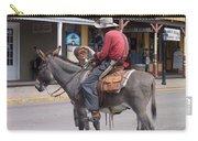 Prospector Re-enactor With Fan Allen Street Tombstone Arizona 200 Carry-all Pouch