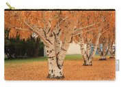 Prosser - Autumn Birch Trees Carry-all Pouch