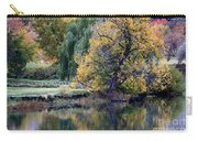 Prosser - Autumn Reflection With Geese Carry-all Pouch