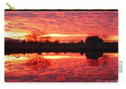 Dramatic Orange Sunset Carry-all Pouch