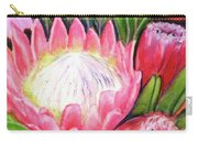 Protea Flowers #240 Carry-all Pouch