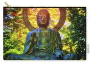 Protection Buddha #2 In Japanese Tea Garden At Golden Gate Park - San Francisco Carry-all Pouch