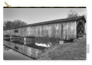 Protection That Works Historic Watson Mill Covered Bridge Carry-all Pouch
