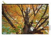 Proud Maine Tree In The Fall Carry-all Pouch