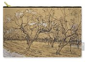 Provencal Orchard Arles  March - April 1888 Vincent Van Gogh 1853  1890 Carry-all Pouch