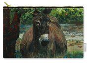 Provence Donkey Carry-all Pouch by Nadine Rippelmeyer