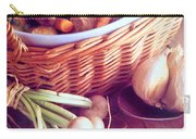 Provence Kitchen Shallots Carry-all Pouch