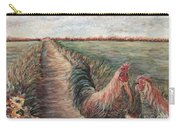 Provence Roosters Carry-all Pouch