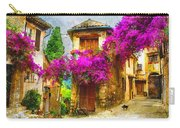 Provence Street Carry-all Pouch