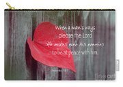 Proverbs 16 V 7 Carry-all Pouch
