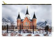 Provo City Center Temple Lds Large Canvas Art, Canvas Print, Large Art, Large Wall Decor, Home Decor Carry-all Pouch