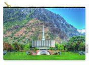 Provo Utah Temple Carry-all Pouch