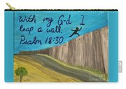 Art Therapy For Your Wall Psalm Art Carry-all Pouch