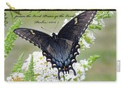 Psalm Scripture - Swallowtail Carry-all Pouch