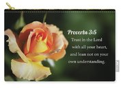 Proverbs Three Five Carry-all Pouch
