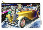 Psychedelic 1930 Jaguar Ss1 At London Classic Car Show 2015 Carry-all Pouch