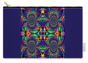 Psychedelic Abstract Kaleidoscope Carry-all Pouch