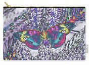 Psychedelic Butterfly Carry-all Pouch