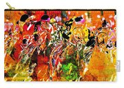 Psychedelic Derby Carry-all Pouch