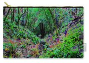 Psychedelic Fern Gully On Mt Tamalpais Carry-all Pouch