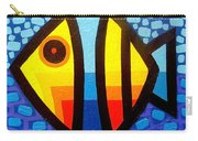 Psychedelic Fish Carry-all Pouch