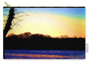 Psychedelic Sunrise On The Delaware River Carry-all Pouch