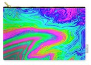 Psychedelic Swirl Carry-all Pouch