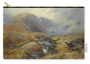 Ptarmigan Danger Aloft By Thorburn Carry-all Pouch