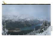 Ptarmigan Trail Overlooking Elizabeth Lake 3 - Glacier National Park Carry-all Pouch