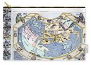Ptolemaic World Map, 1493 Carry-all Pouch