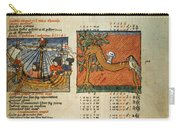 Ptolemy: Almagest, 1490 Carry-all Pouch