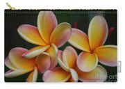 Pua Melia Plumeria Kuulei Haiku Carry-all Pouch