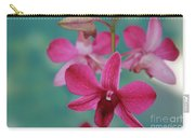 Puanani Kealoha Dendrobium D Burana Red Flame Hawaiian Orchid Carry-all Pouch