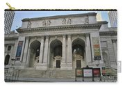 Public Library New York City Carry-all Pouch