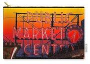 Public Market Mosaic 1 Carry-all Pouch